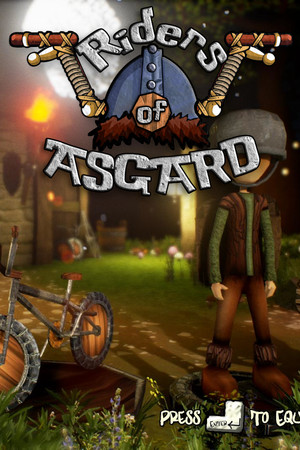 Riders of Asgard poster image on Steam Backlog