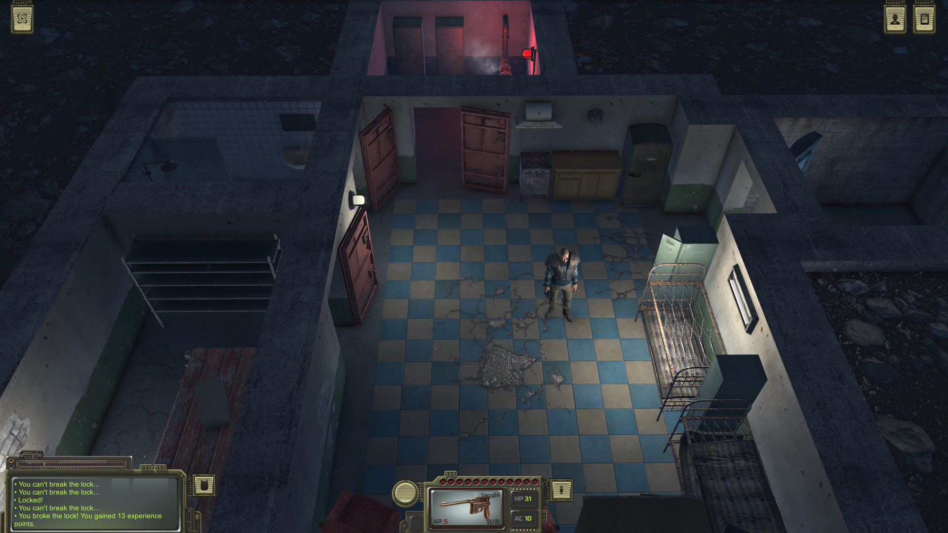 ATOM RPG Post apocalyptic in game Game Free Download Torrent
