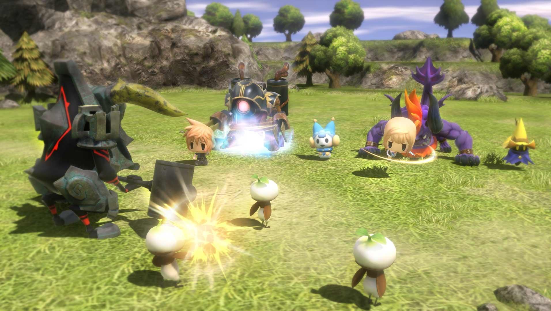 World of Final Fantasy Screenshot 2