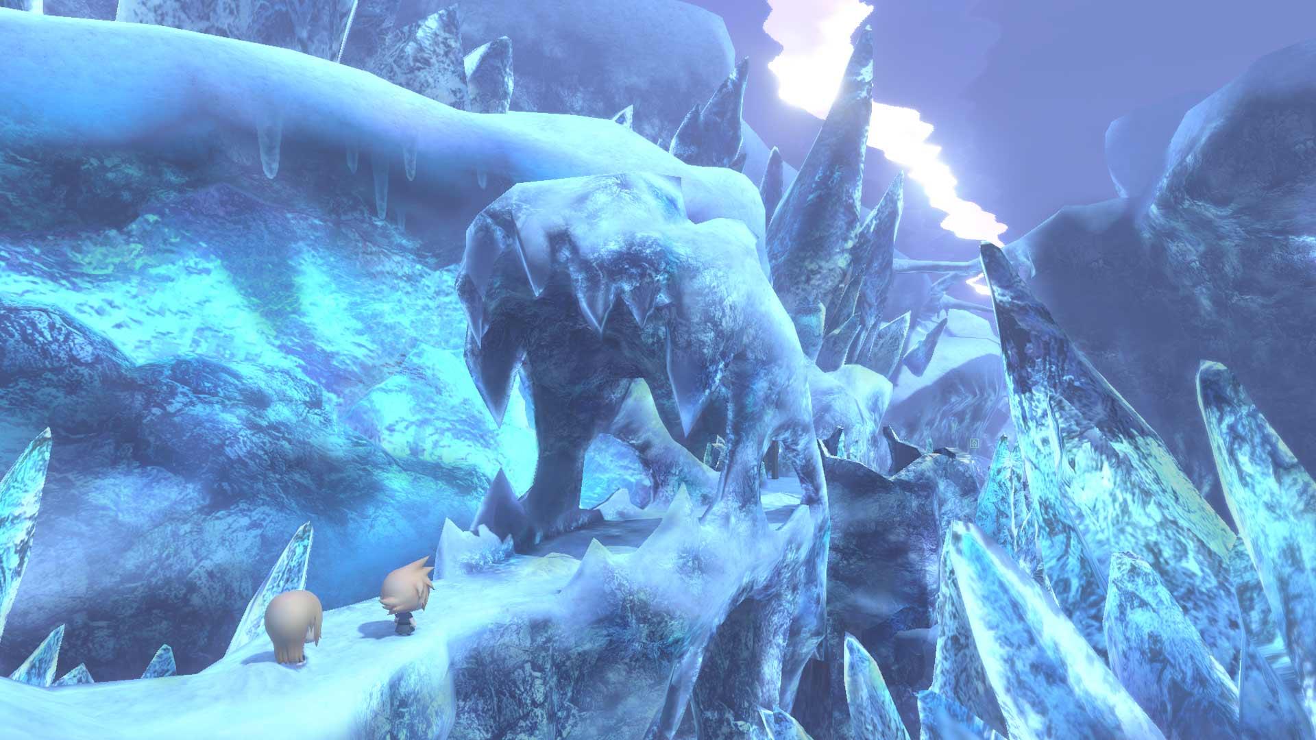 World of Final Fantasy Screenshot 3