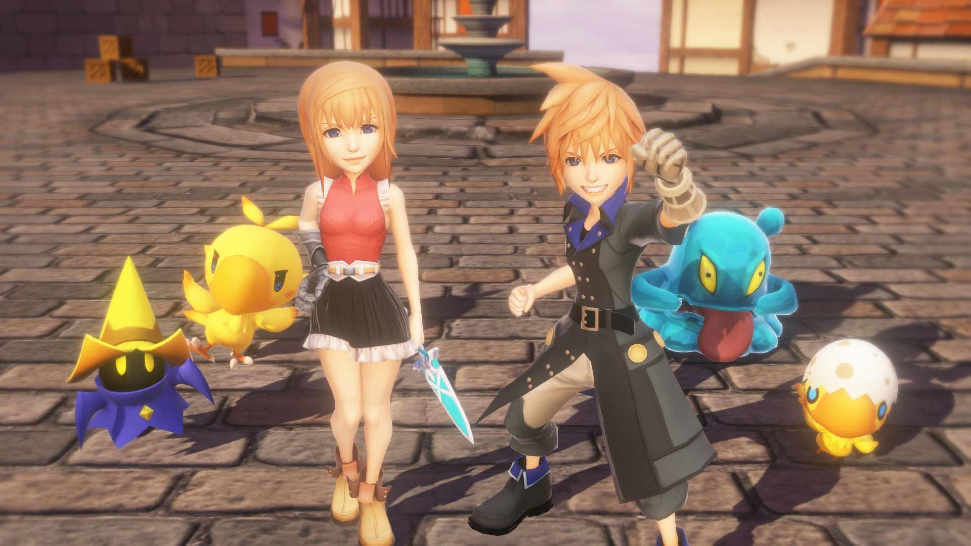 download world of final fantasy cracked by codex include all dlc and latest update mirrorace multiup