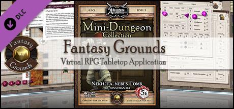 Fantasy Grounds - Mini-Dungeon #012: Nekh-ta-Nebi's Tomb (5E)