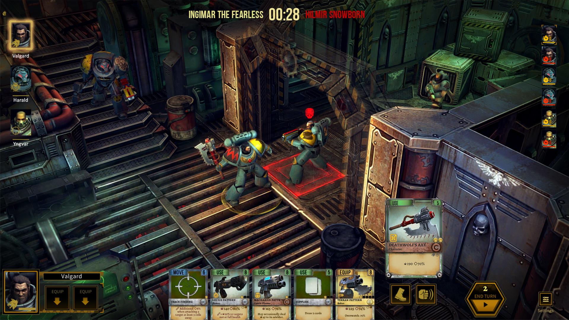 Save 60% on Warhammer 40,000: Space Wolf on Steam