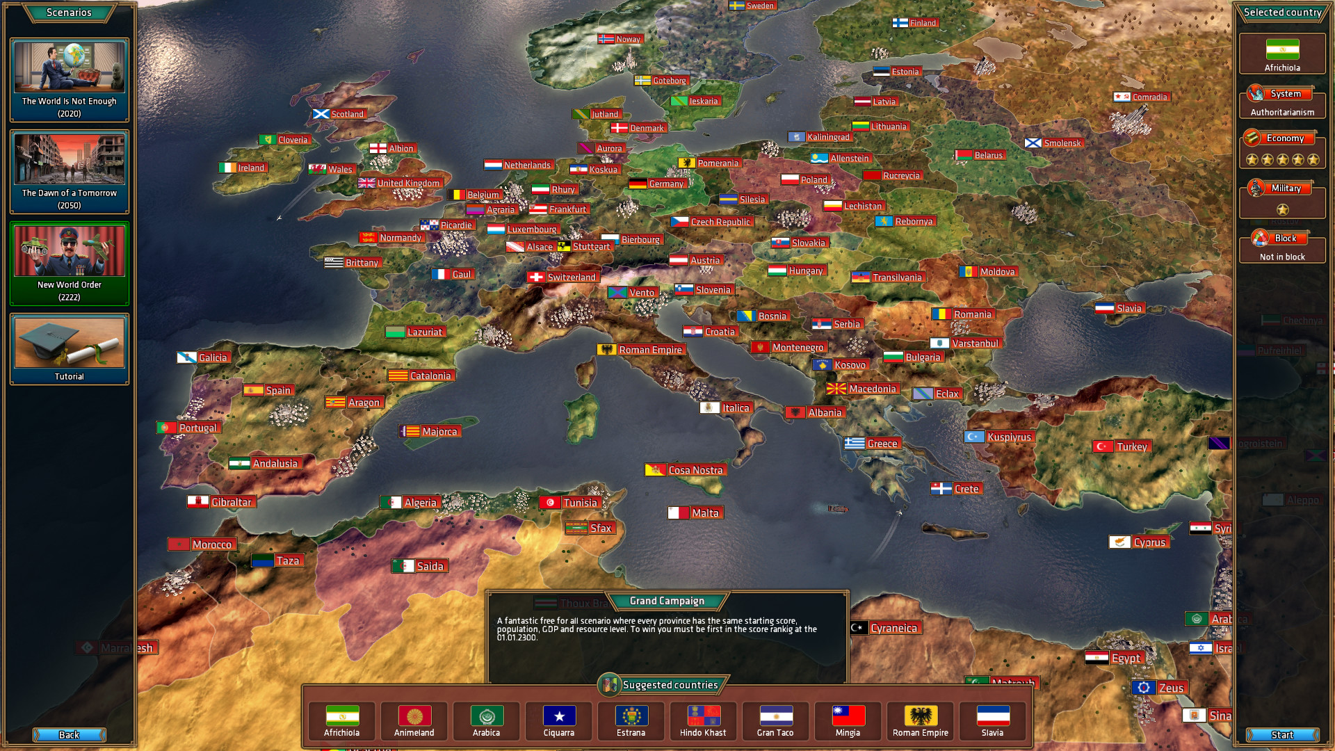 Realpolitiks Screenshot 1