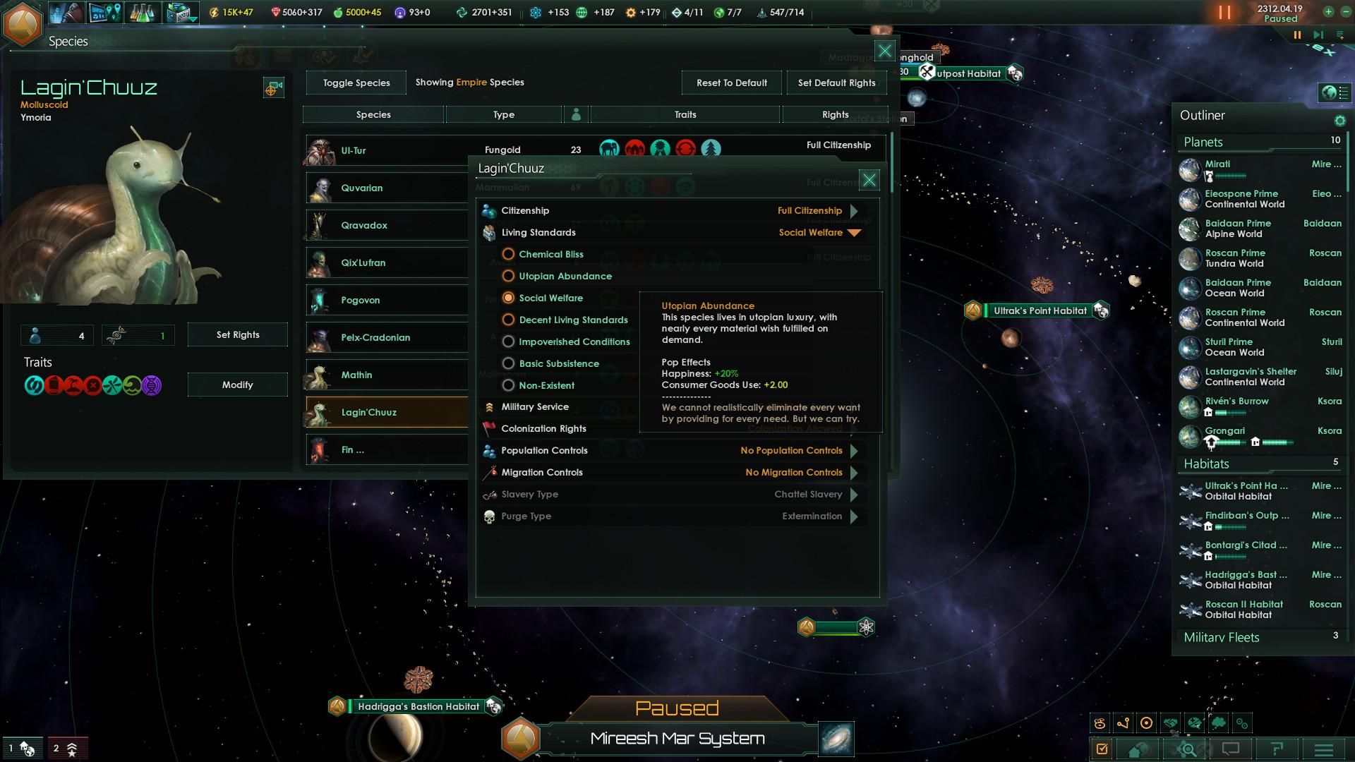 Matchmaking Utopia