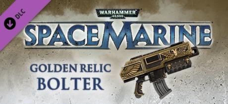 Warhammer 40,000: Space Marine - Golden Relic Bolter
