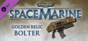 Warhammer 40,000: Space Marine - Golden Relic Bolter cover art