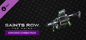 Saints Row: The Third - Explosive Combat Pack cover art