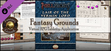 Fantasy Grounds - Hellfrost: Lair of the Vermin Lord (Savage Worlds)