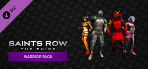 Saints Row: The Third - Warrior Pack cover art