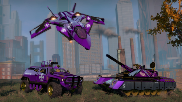 Saints Row: The Third - Special Ops Vehicle Pack (DLC)
