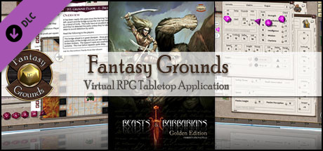 Fantasy Grounds - Beasts & Barbarians Golden Edition (Savage Worlds)