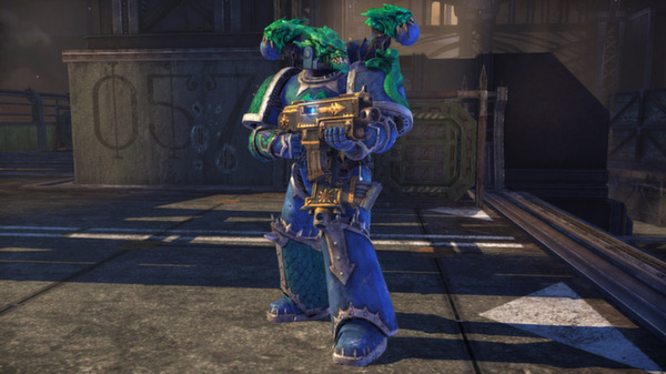 Warhammer 40,000: Space Marine - Alpha Legion Champion Armour Set (DLC)