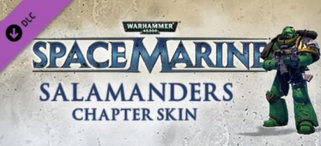 Warhammer 40,000: Space Marine - Salamanders Veteran Armour Set