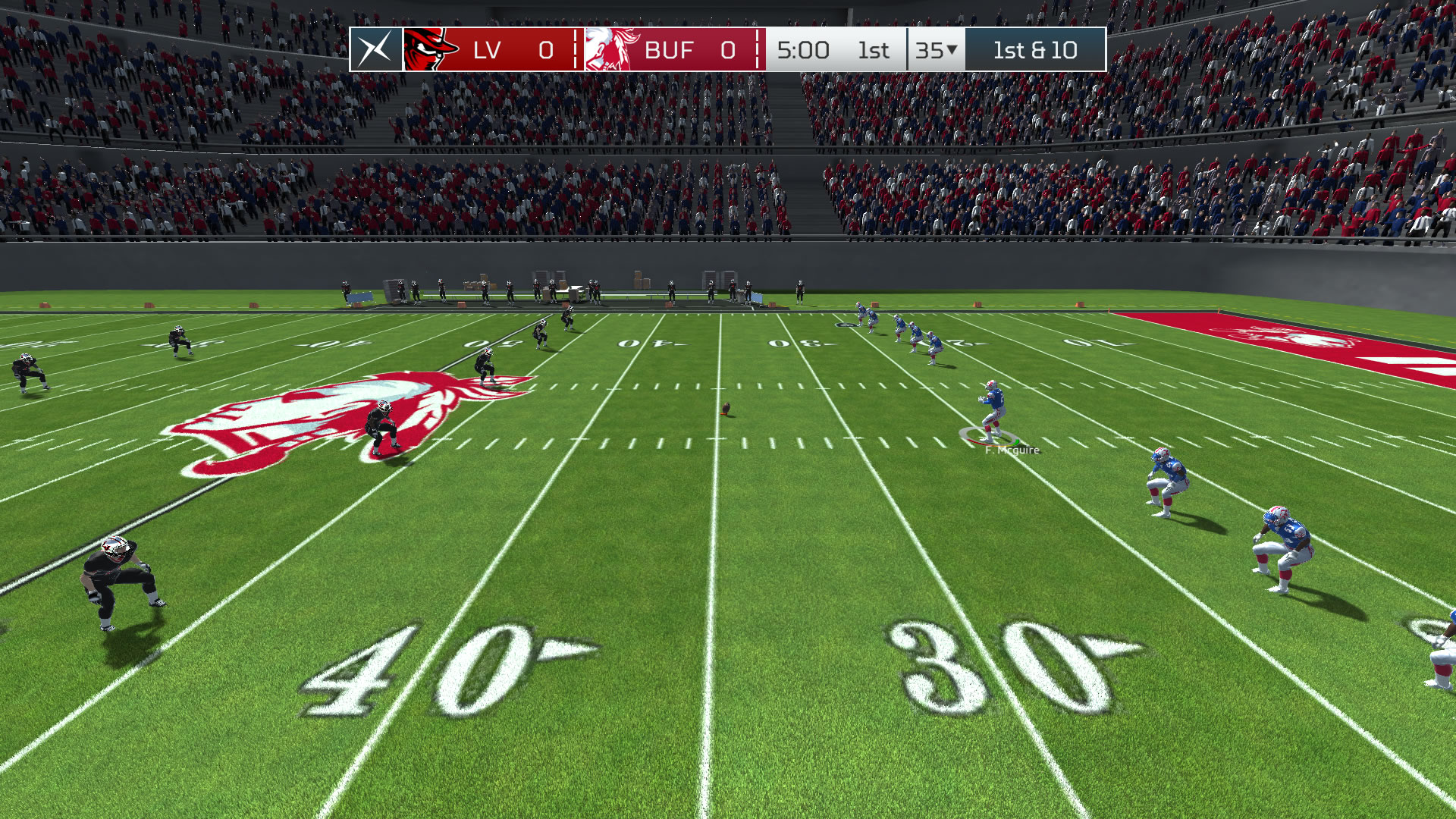 Computer football games online play