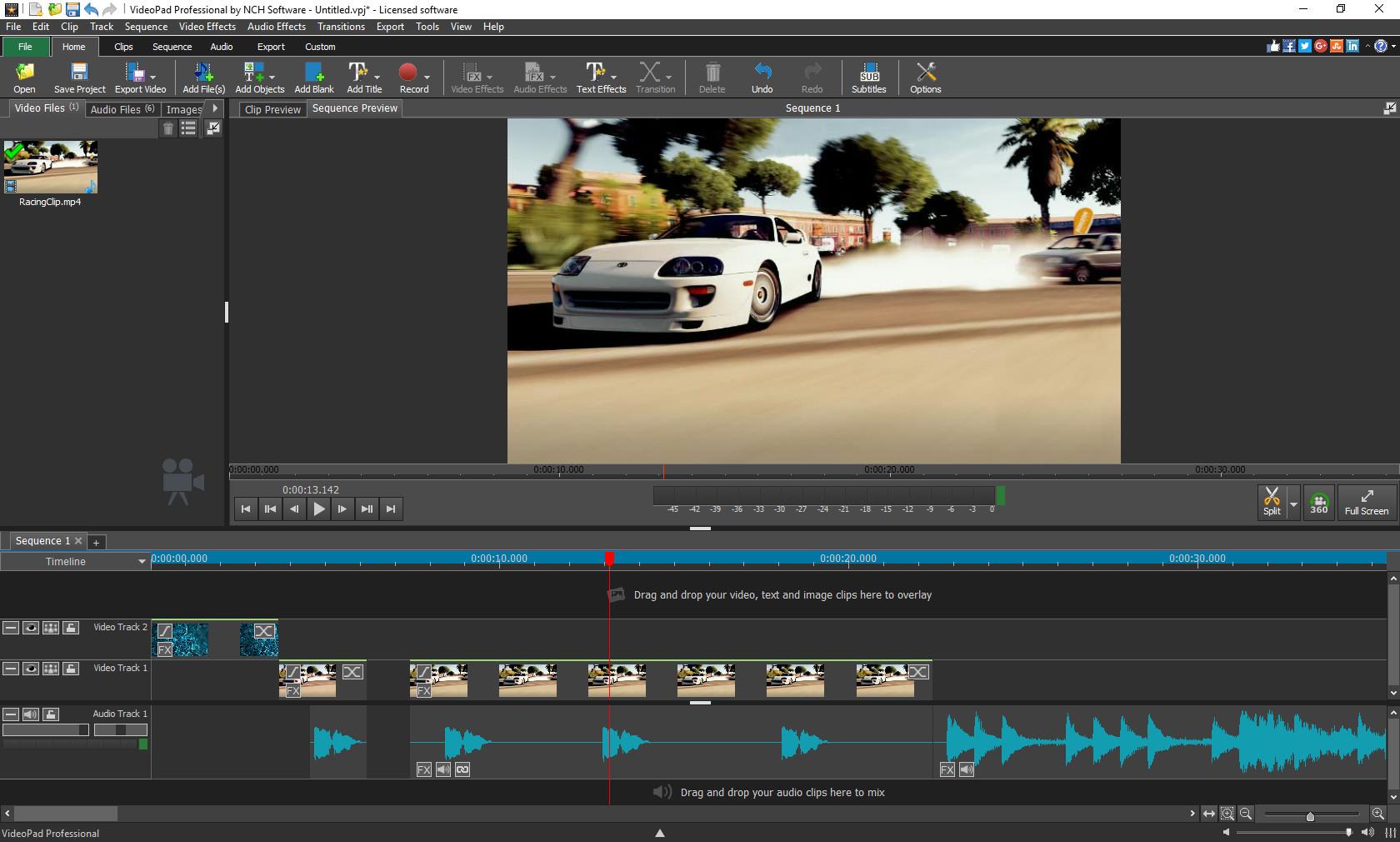 videopad video editor mac free download