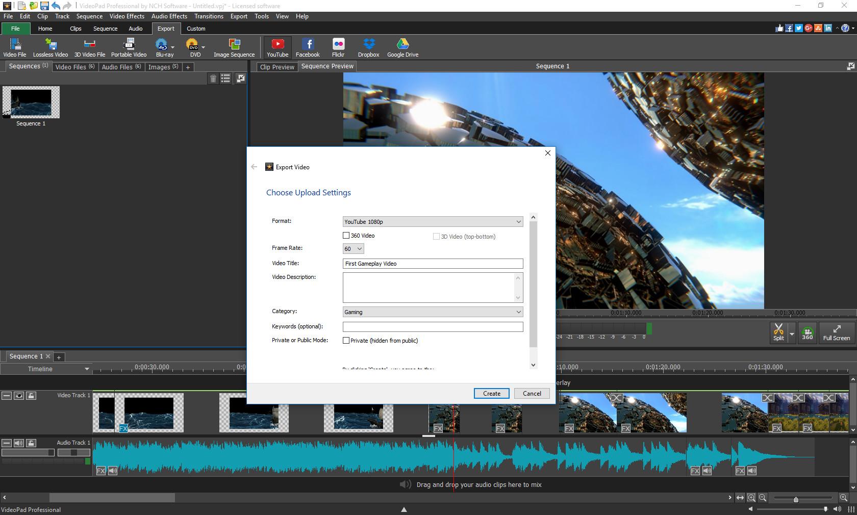 videopad video editor price