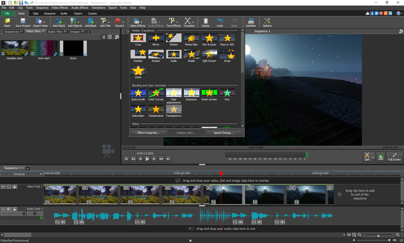 VideoPad Video Editor on Steam