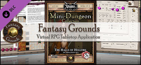 Fantasy Grounds - Mini-Dungeon #016: The Halls of Hellfire (5E)