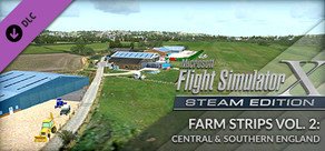 FSX Steam Edition: Farm Strips Vol 2: Central and Southern England Add-On