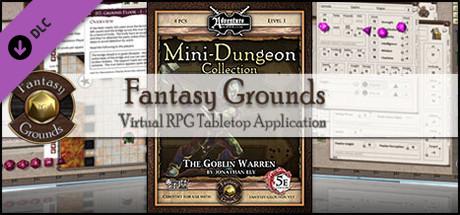 Fantasy Grounds - Mini-Dungeon #019: The Goblin Warren (5E)