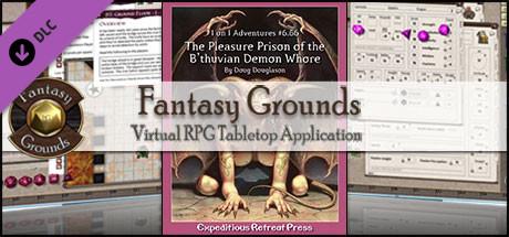 Fantasy Grounds - 1 on 1 Adventures #6.66: The Pleasure Prison (3.5E/PFRPG)