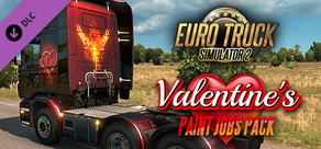 Euro Truck Simulator 2 - Valentine's Paint Jobs Pack