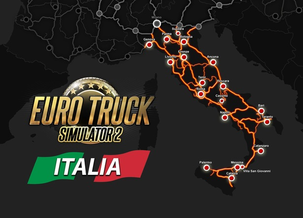 Euro Truck Simulator 2 - Italia Steam CD Key - Instant Delivery