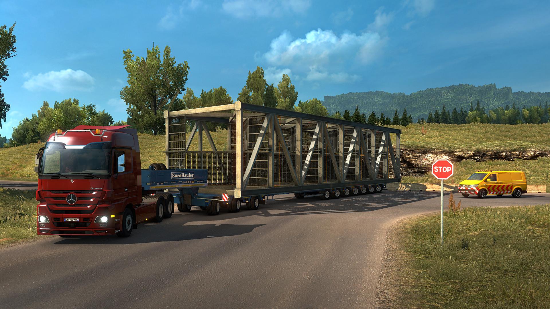 euro truck simulator 2 multiplayer schlafen