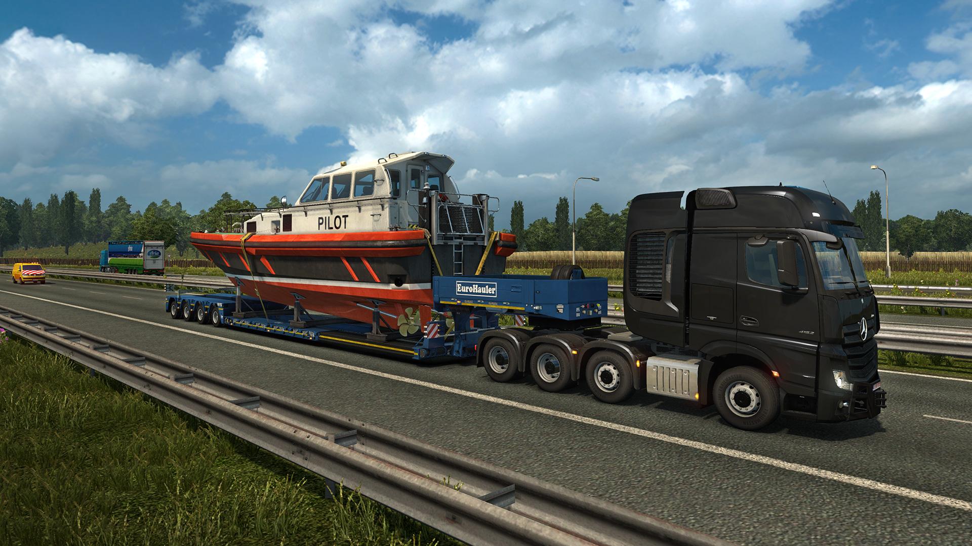 spezialtransport-simulator 2013 demo