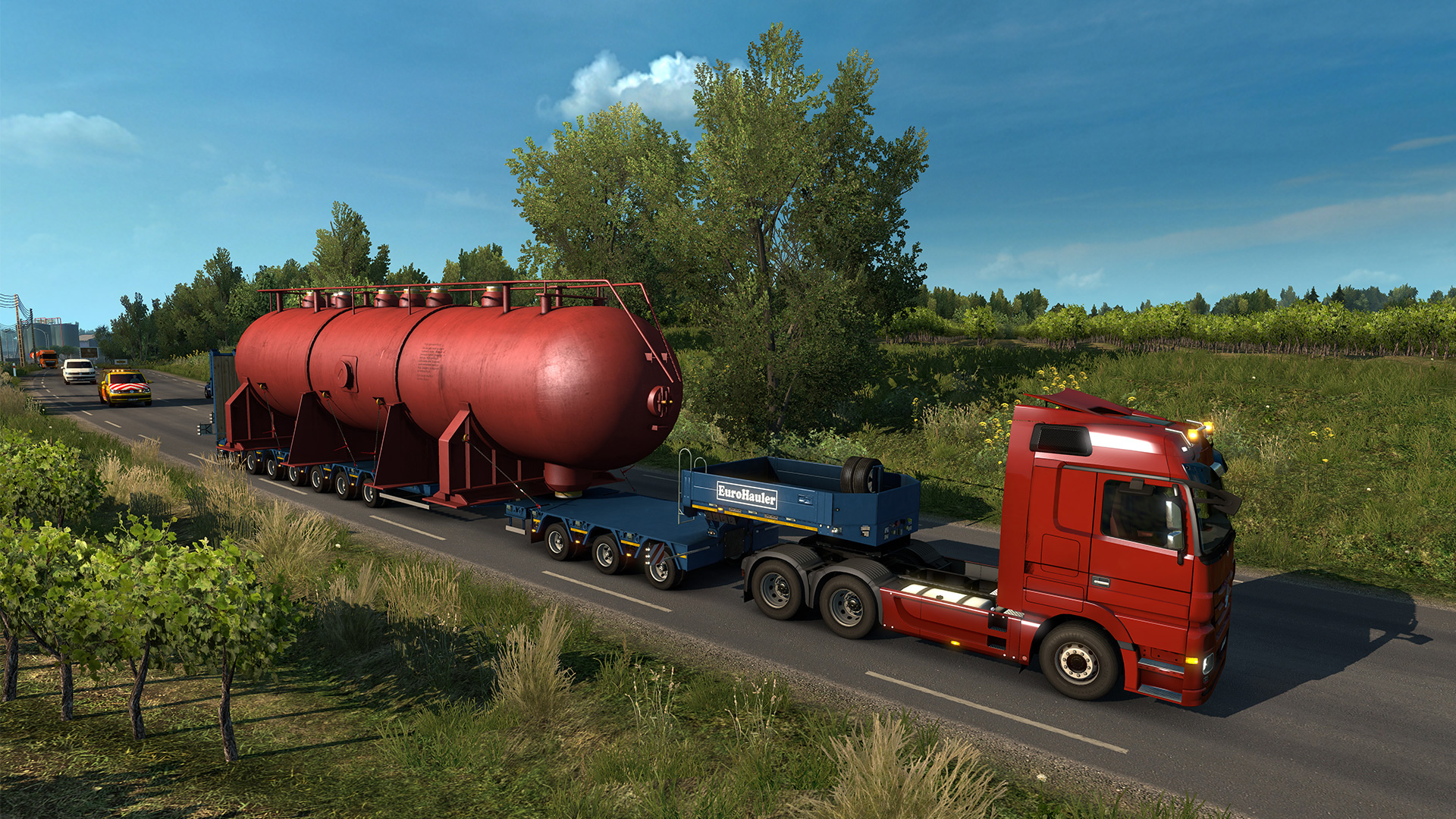 Euro truck simulator 3 torrent-oyun indir