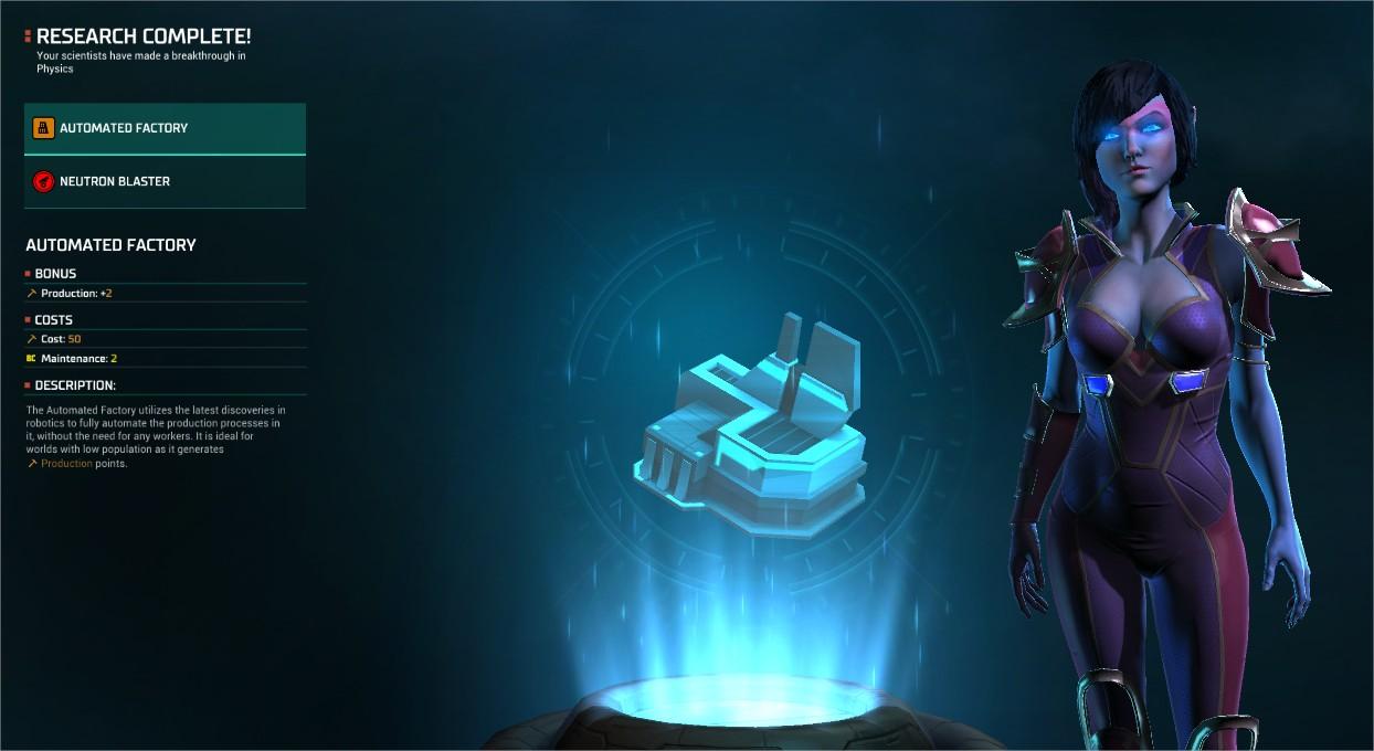 Master of Orion: Revenge of Antares Race Screenshot 1