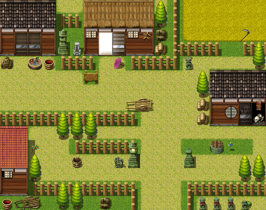RPG Maker MV - Call of Darkness: Japanese Resource Pack - Keymailer