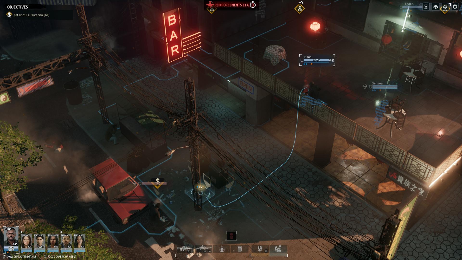 Скриншот игры Phantom Doctrine v1.0.9