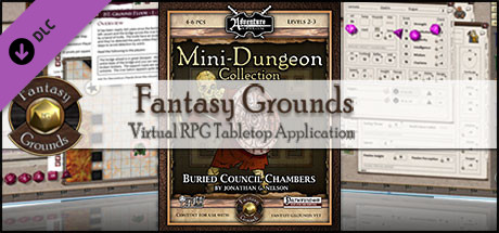 Fantasy Grounds -  Mini-Dungeon #001: Buried Council Chambers (PFRPG)