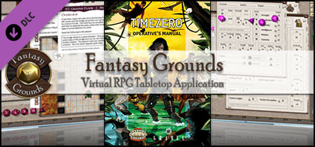 Fantasy Grounds - TimeZero: Operative's Manual (Savage Worlds)