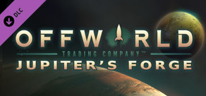 Offworld Trading Company: Jupiter's Forge Expansion Pack cover art