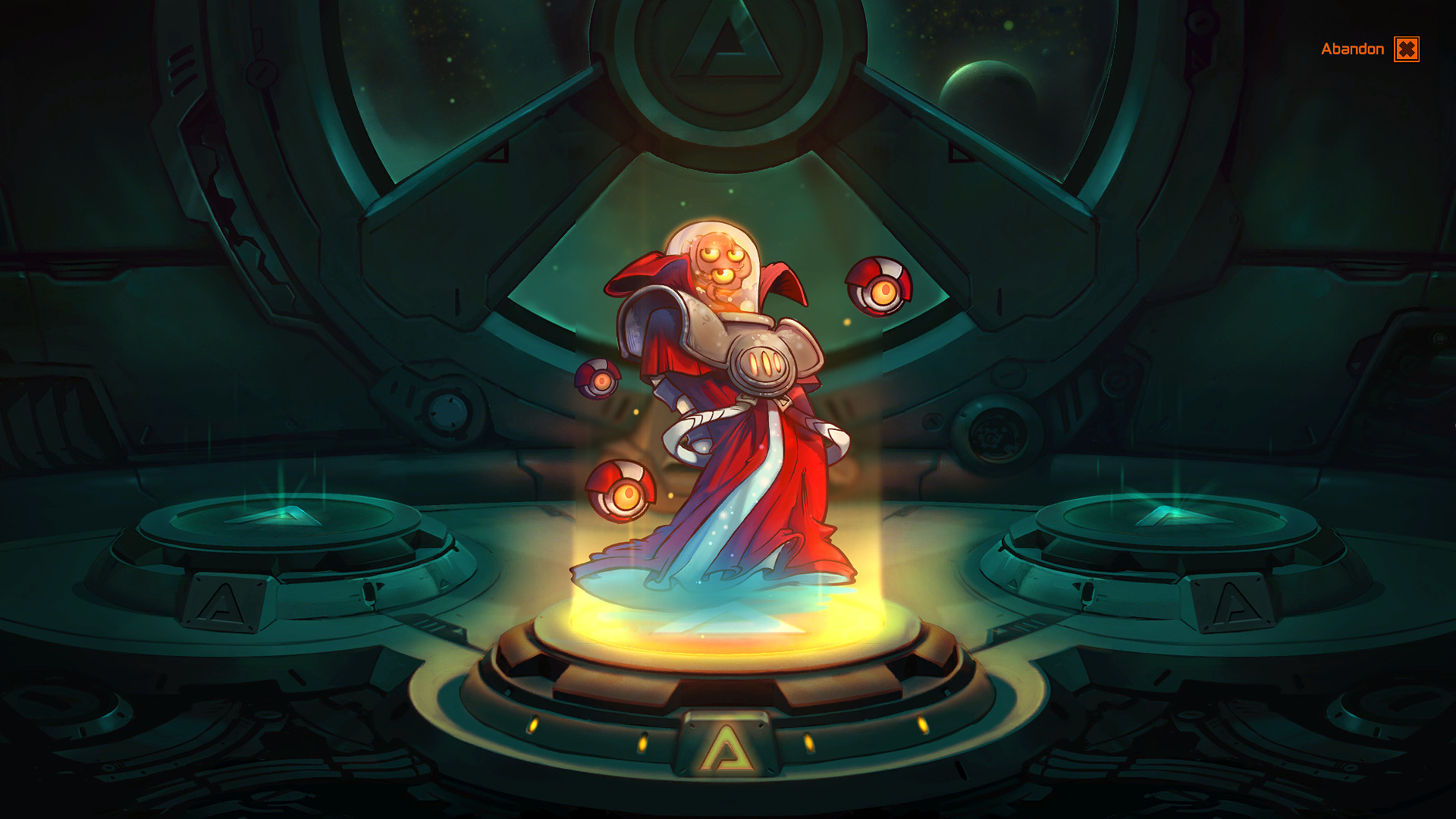 Voltar the Omniscient - Awesomenauts Character