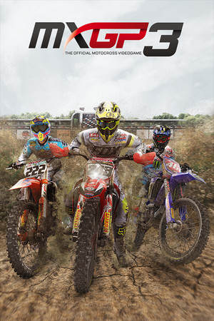 MXGP3 - The Official Motocross Videogame poster image on Steam Backlog