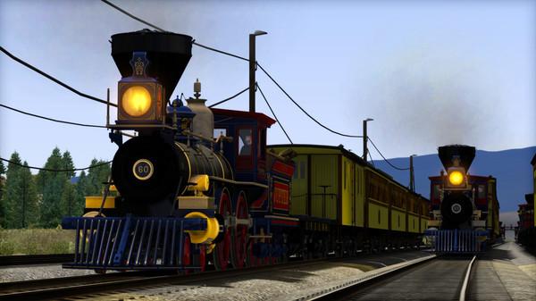 скриншот Train Simulator: CPRR 4-4-0 No. 60 'Jupiter' Steam Loco Add-On 0