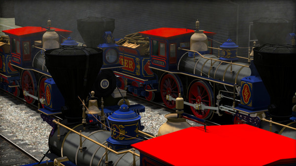 скриншот Train Simulator: CPRR 4-4-0 No. 60 'Jupiter' Steam Loco Add-On 5