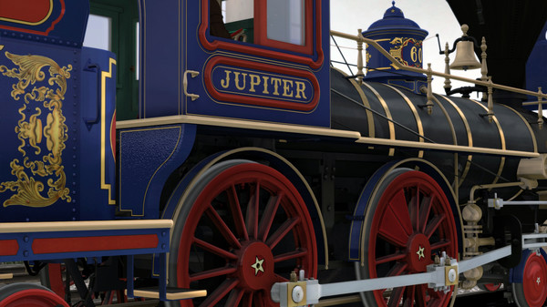 скриншот Train Simulator: CPRR 4-4-0 No. 60 'Jupiter' Steam Loco Add-On 4