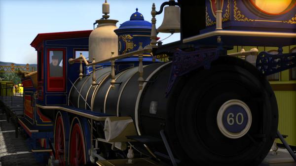 скриншот Train Simulator: CPRR 4-4-0 No. 60 'Jupiter' Steam Loco Add-On 1