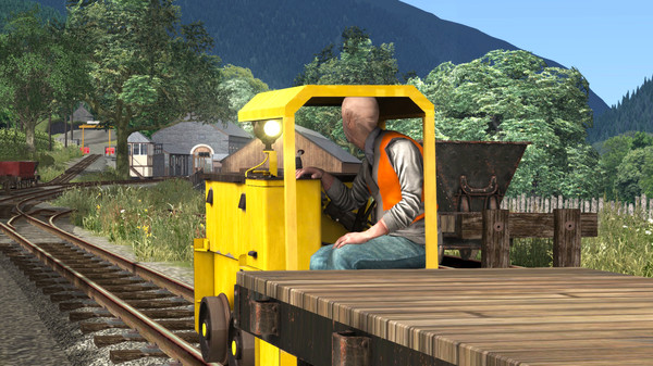 скриншот Train Simulator: Corris Railway Expansion Pack Loco Add-On 0