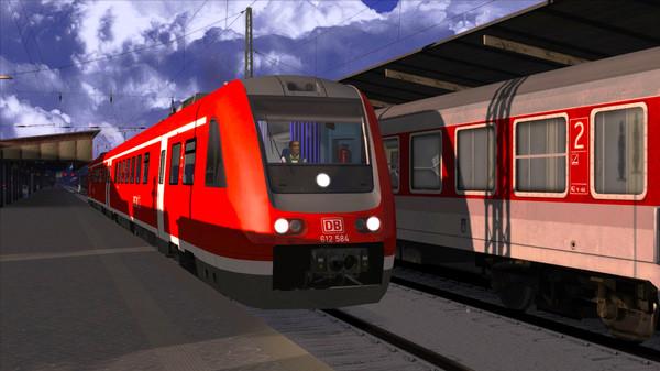 скриншот Train Simulator: DB BR 612 Loco Add-On 2
