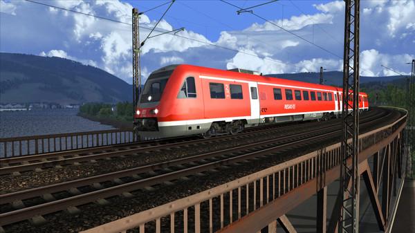 скриншот Train Simulator: DB BR 612 Loco Add-On 0