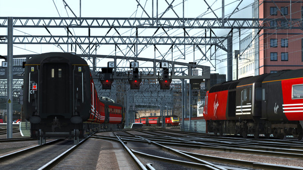 скриншот Train Simulator: Virgin Trains First Generation Loco Add-On 1