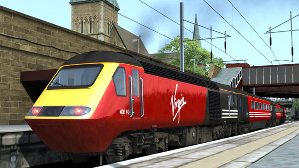скриншот Train Simulator: Virgin Trains First Generation Loco Add-On 4
