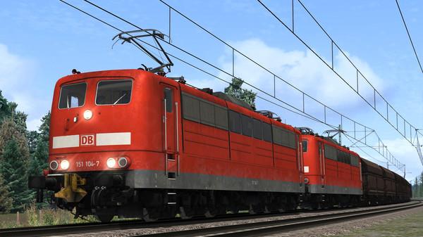 скриншот Train Simulator: DB BR 151 Loco Add-On 5
