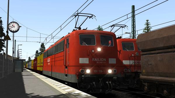 скриншот Train Simulator: DB BR 151 Loco Add-On 1